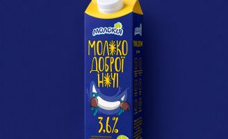 Innovative Good Night Milk Packaging Design