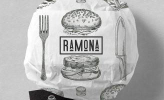 Ramona Fast Food Bistro Rebranding
