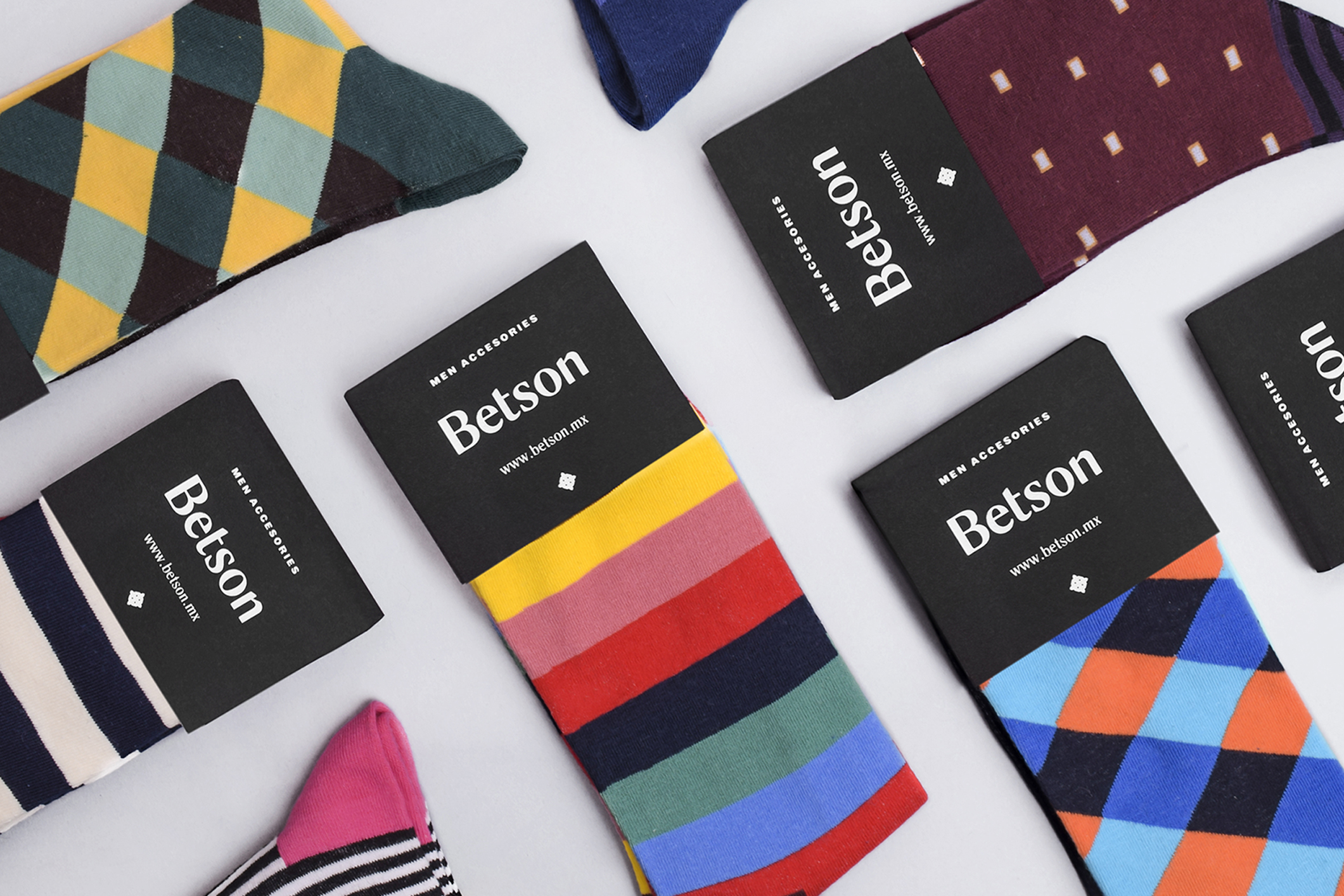 Branding, Naming and Packaging Design for Mexican Men's Accessory Brand