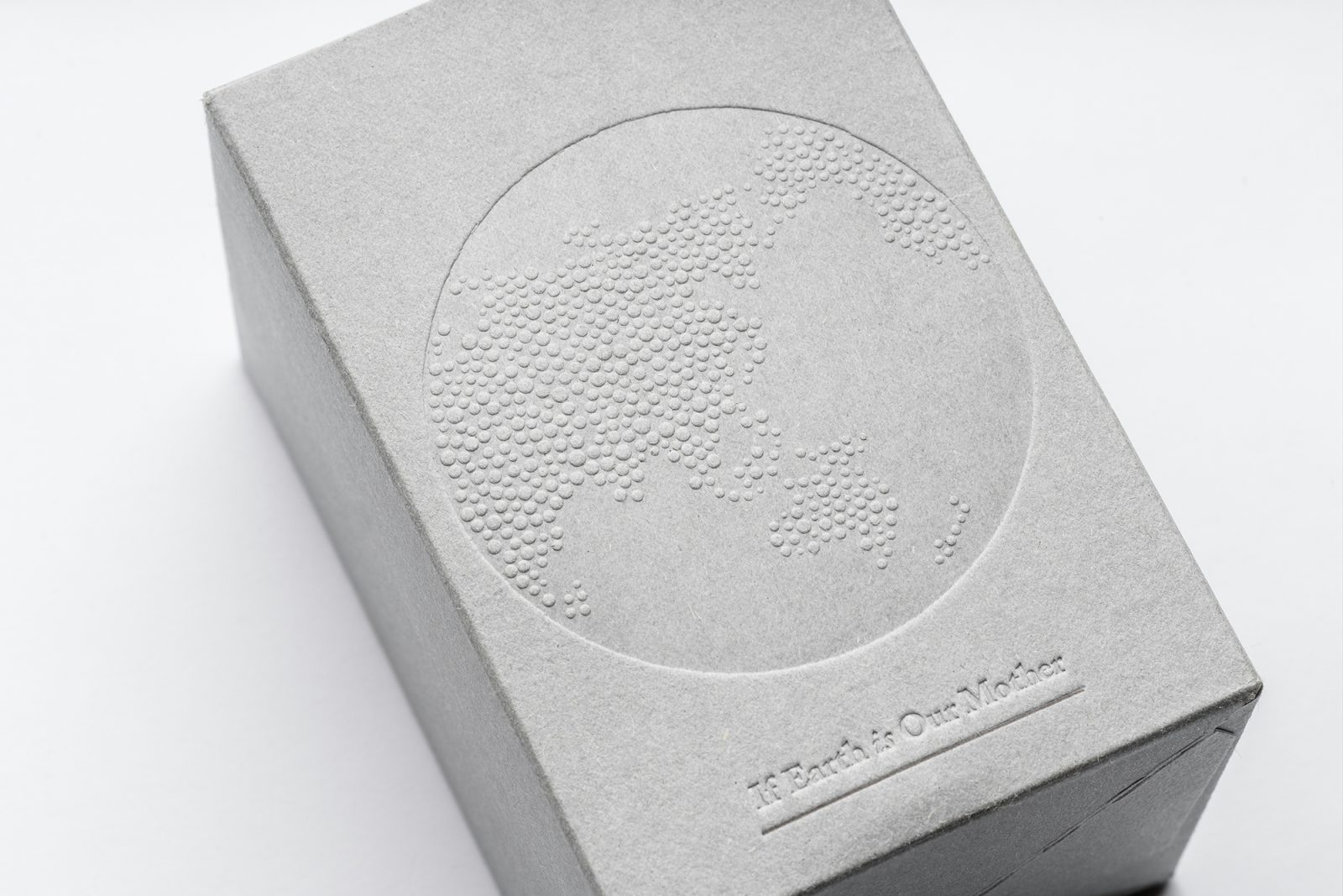 Packaging for Starbucks Taiwan, If Earth is Our Mother-Coffee Grounds Charity Candles
