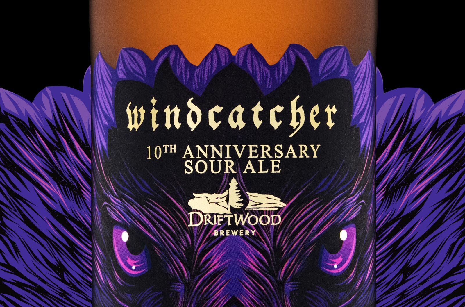 Windcatcher Anniversary Ale, Bird of Prey Sour Series