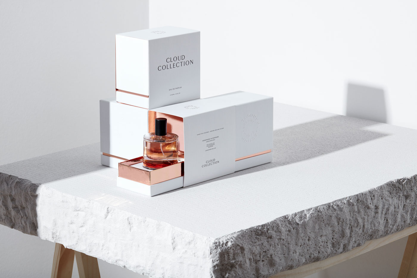 Visual Identity, Art Direction and Packaging Design Fragrance Commission