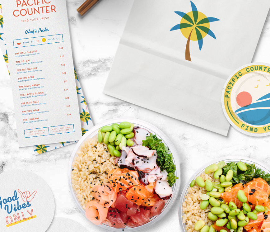 Brand Design for Restaurant in St. Petersburg, USA
