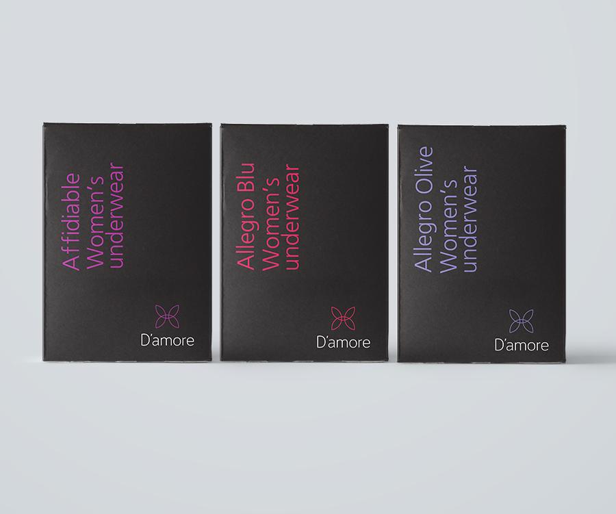 Brand Design D'amore Women's Underwear