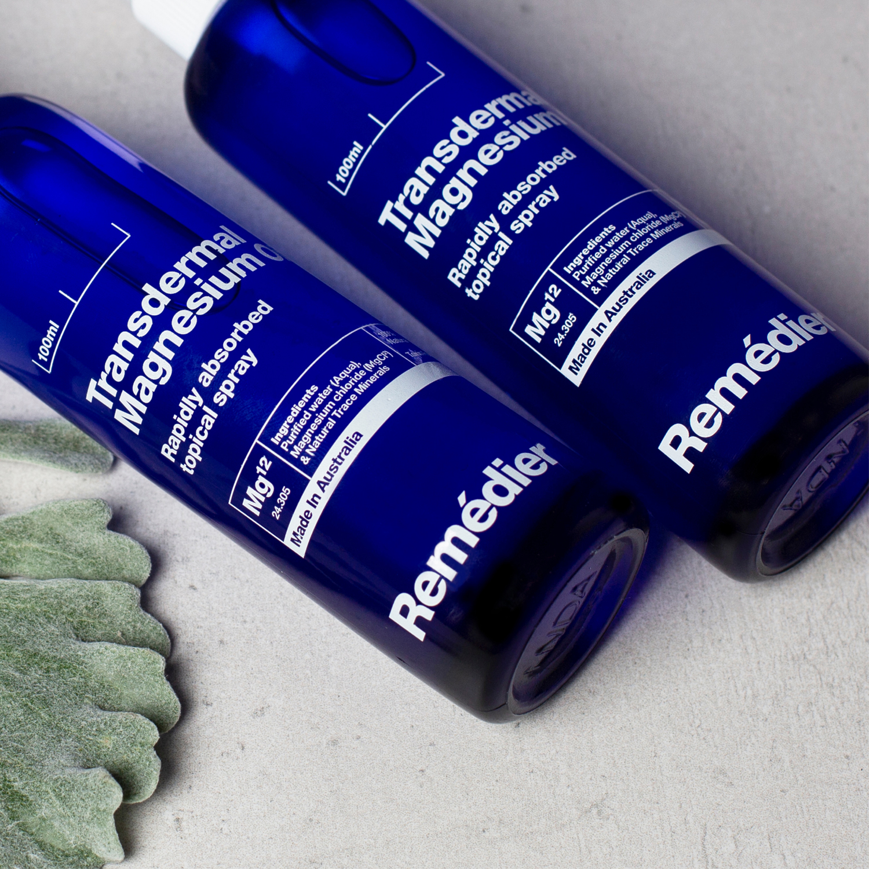 Remédier Magnesium Spray Brand and Packaging Design