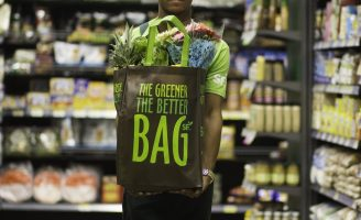 The Greener The Better Bag from the Dominican Republic