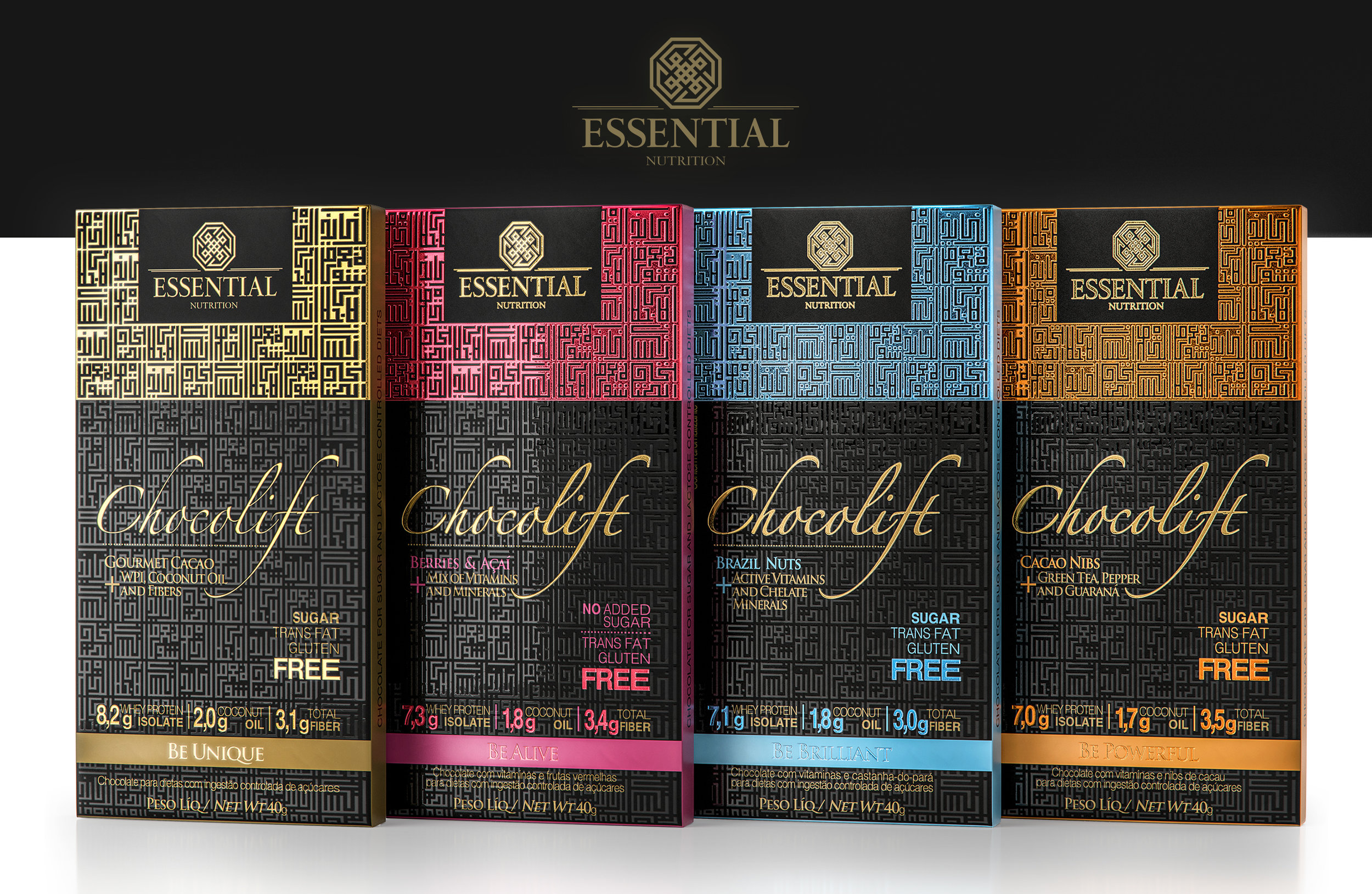 Creative Concept for Functional Nutritional Range of Products from Brazil