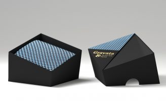 Necktie Brand and Packaging Design Concept