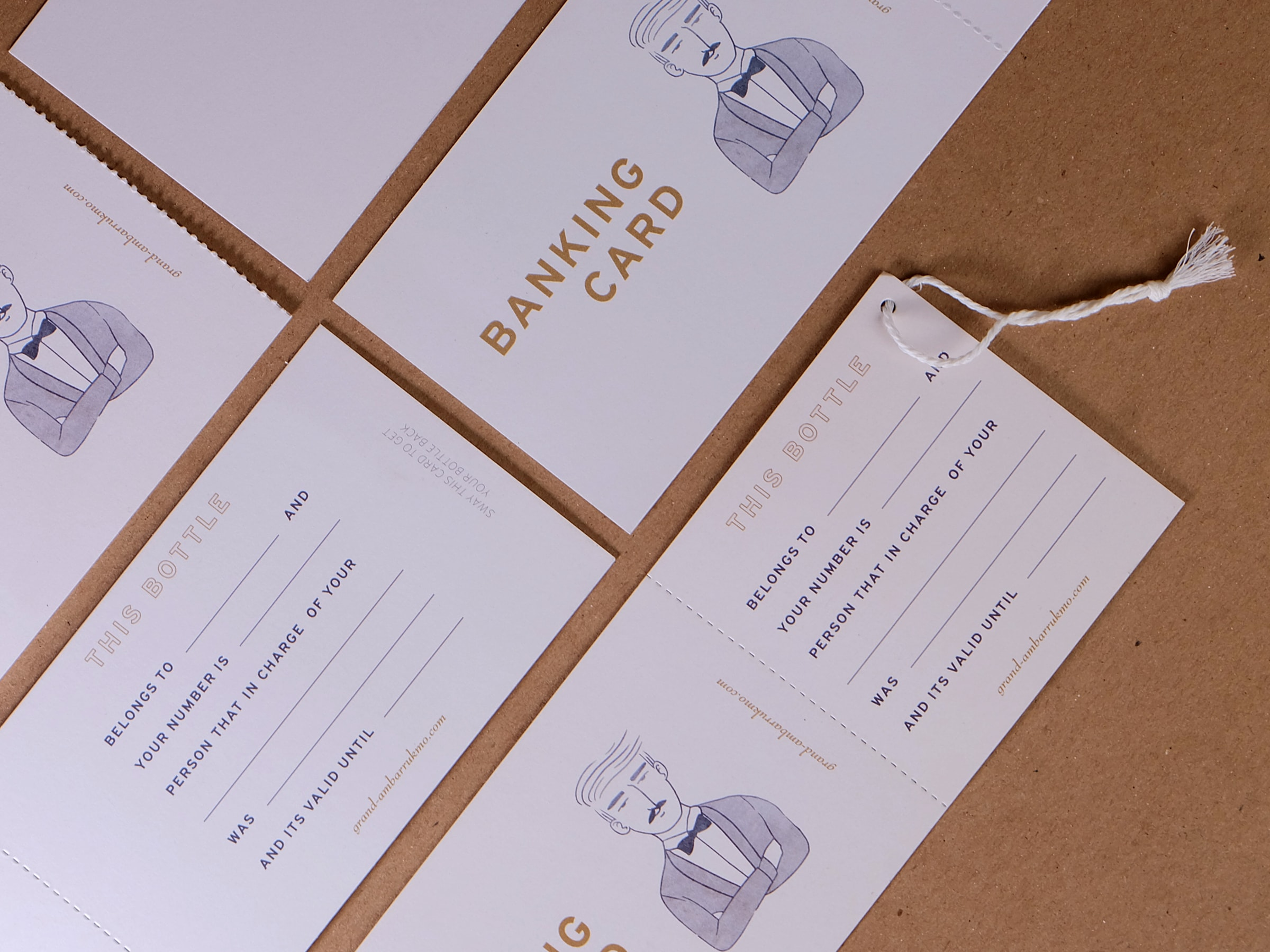 Branding and Collateral for Taking Patrons to the 1920's
