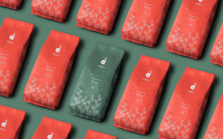 Cuèilli Tea Packaging and Branding