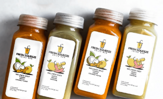 Fun Illustration, Branding and Package Design for Juice Bar