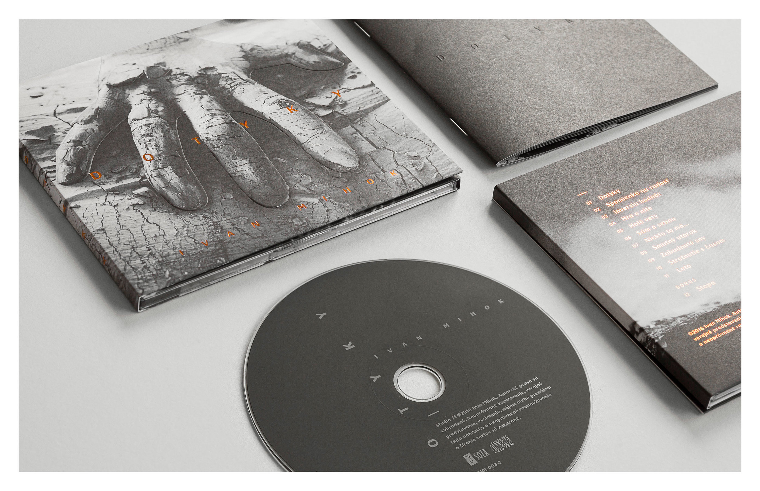 """Music Album Cover """"Touches"""""""