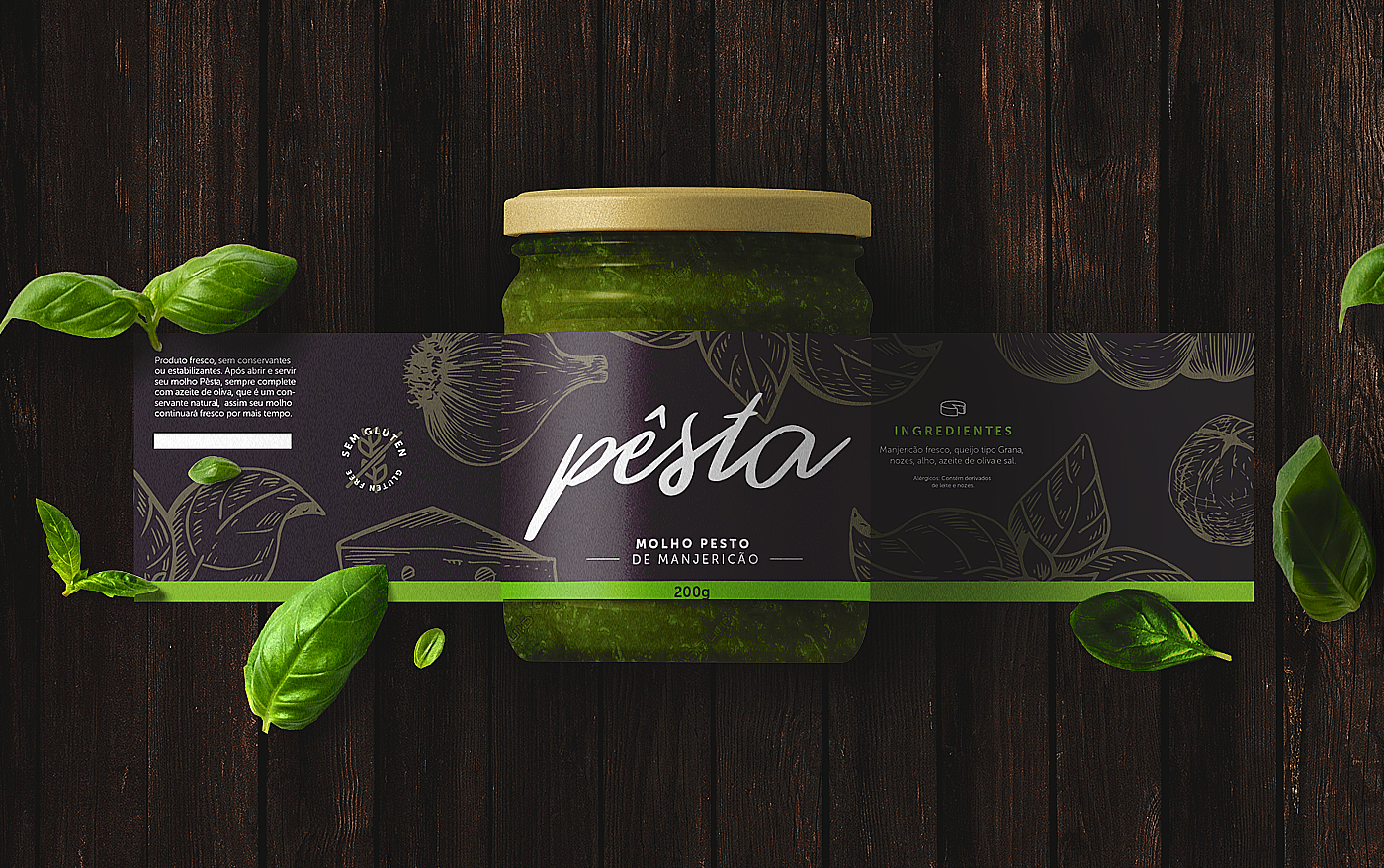Packaging Design for Brazilian Sauce Company