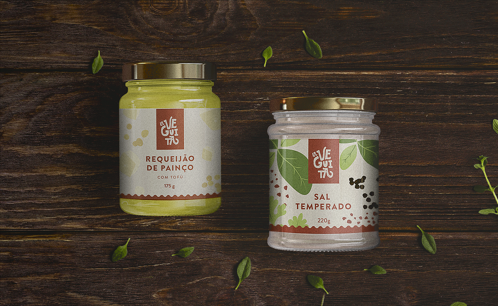 Brand and Packaging Design Creation for Brazilian Vegan Food Company
