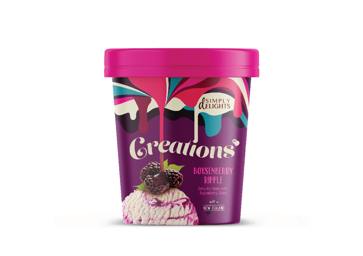 Brand Identity and Packaging Design for New Private Label Ice Cream Range