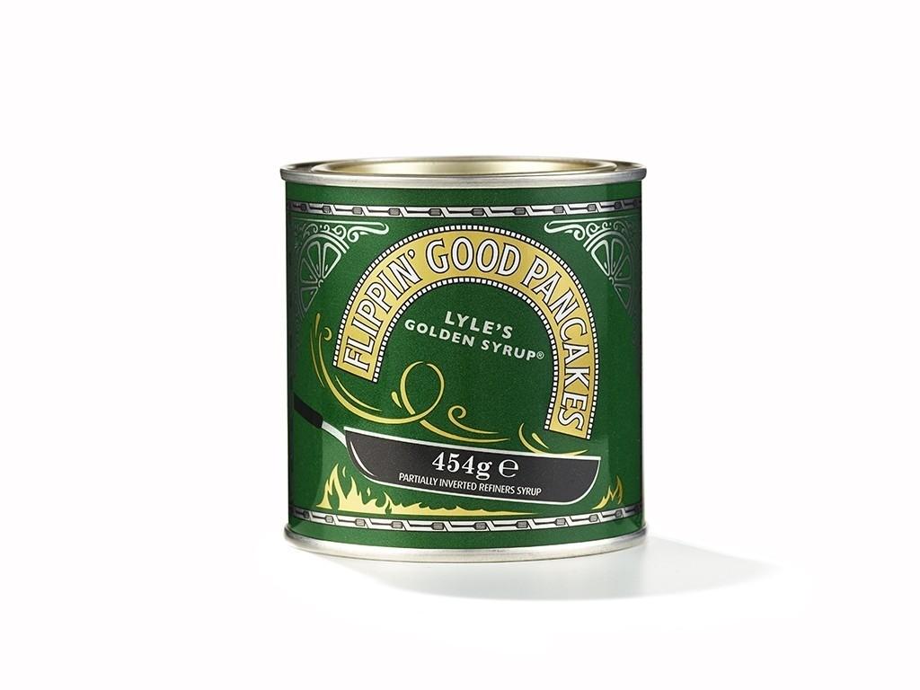 Design Bridge – Flippin' Good Pancakes seasonal tin for Lyle's Golden Syrup®