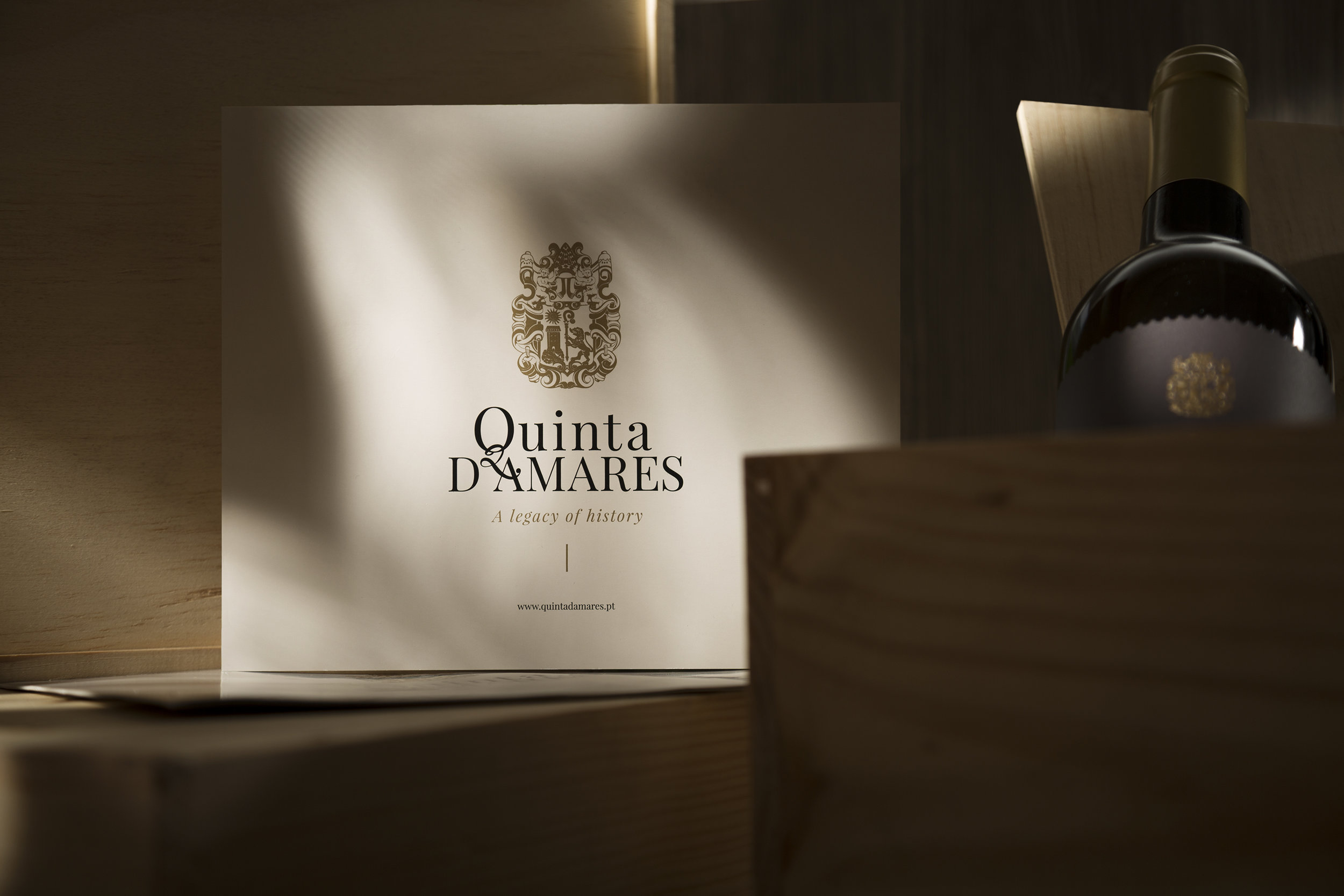 Renewed Visual Identity with Origin of Monastery Estate Crest and Traditions of the Estate