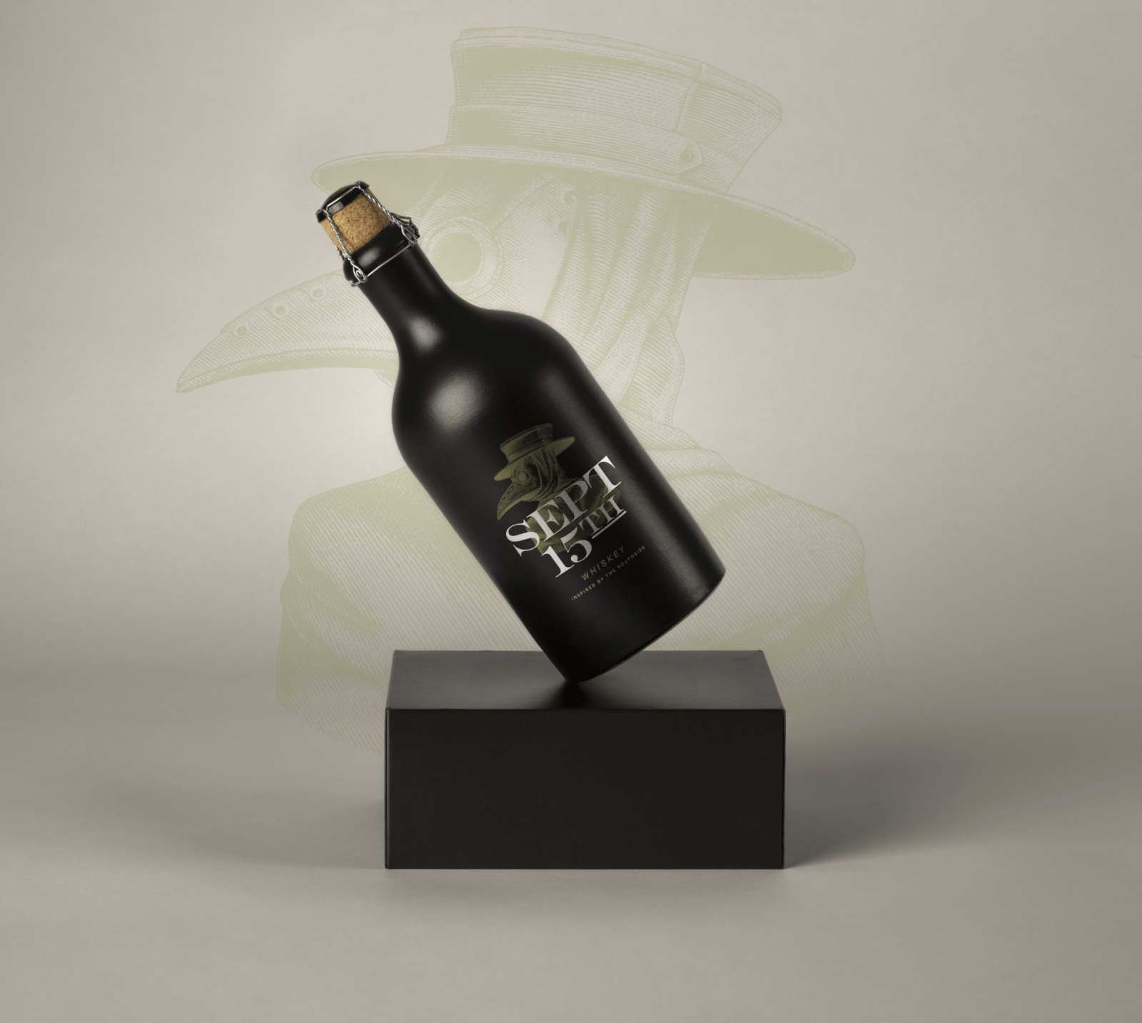 South Side Vintage Whiskey Identity Design