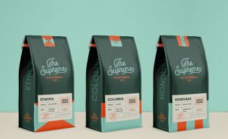 Branding and Packaging for The Supreme Roastering Co.