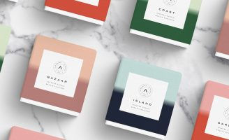 Atolye Handmade Candles Packaging Design