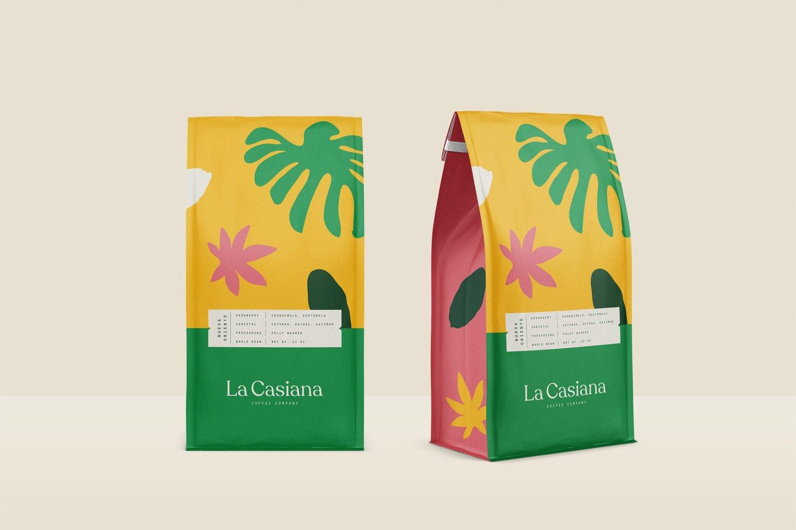 La Casiana Coffee Company Branding