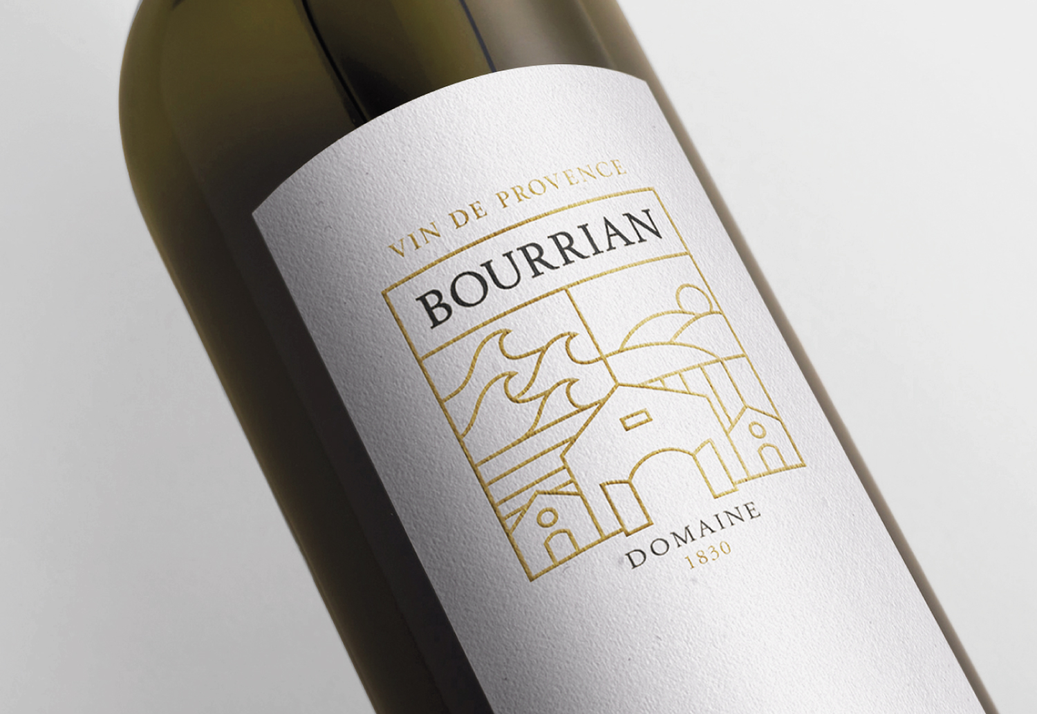 Brand and Label Design for Wine Estate Located in the Southern France