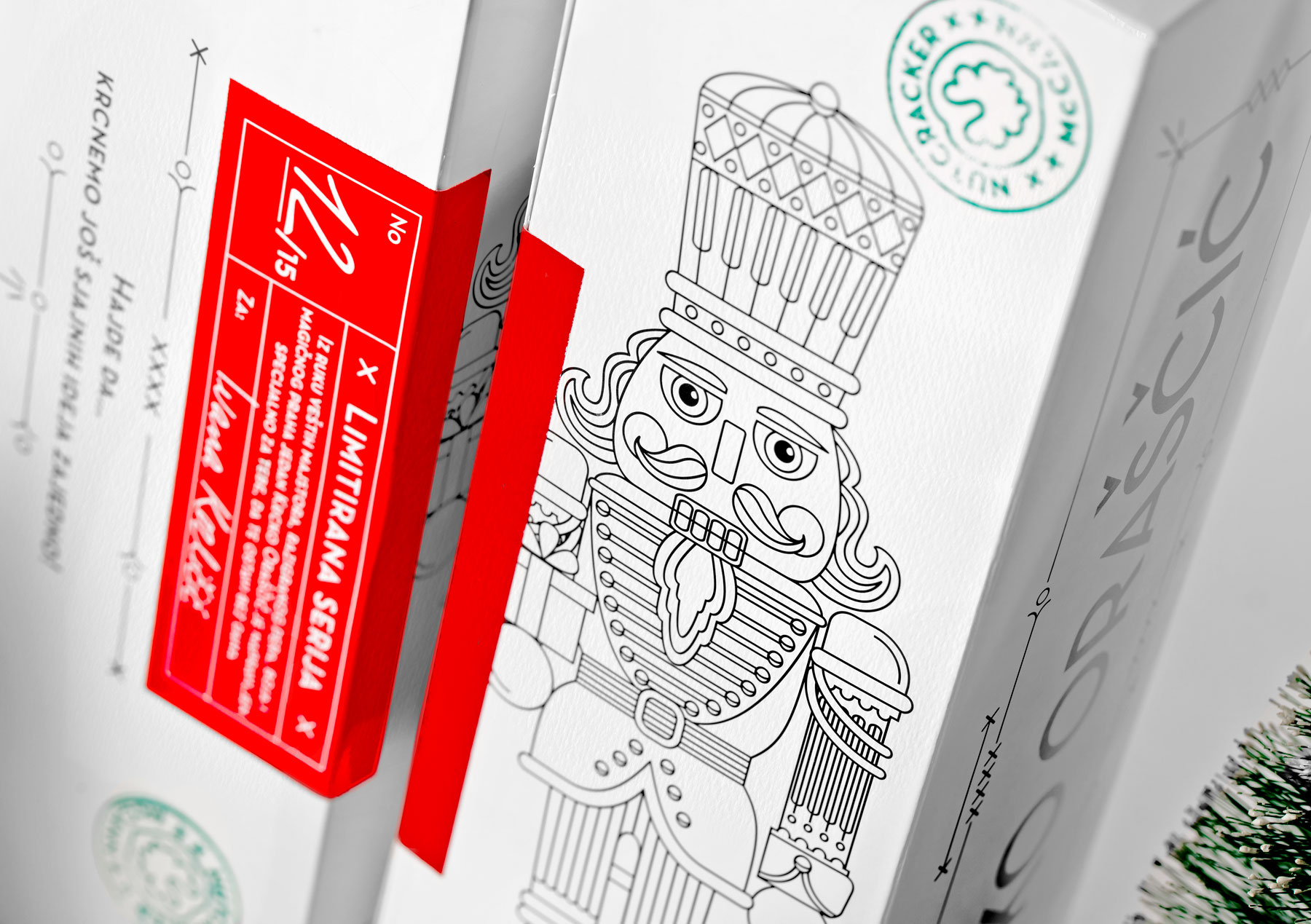 Nutcracker as a Agency Promotional Handmade Personalised Gift