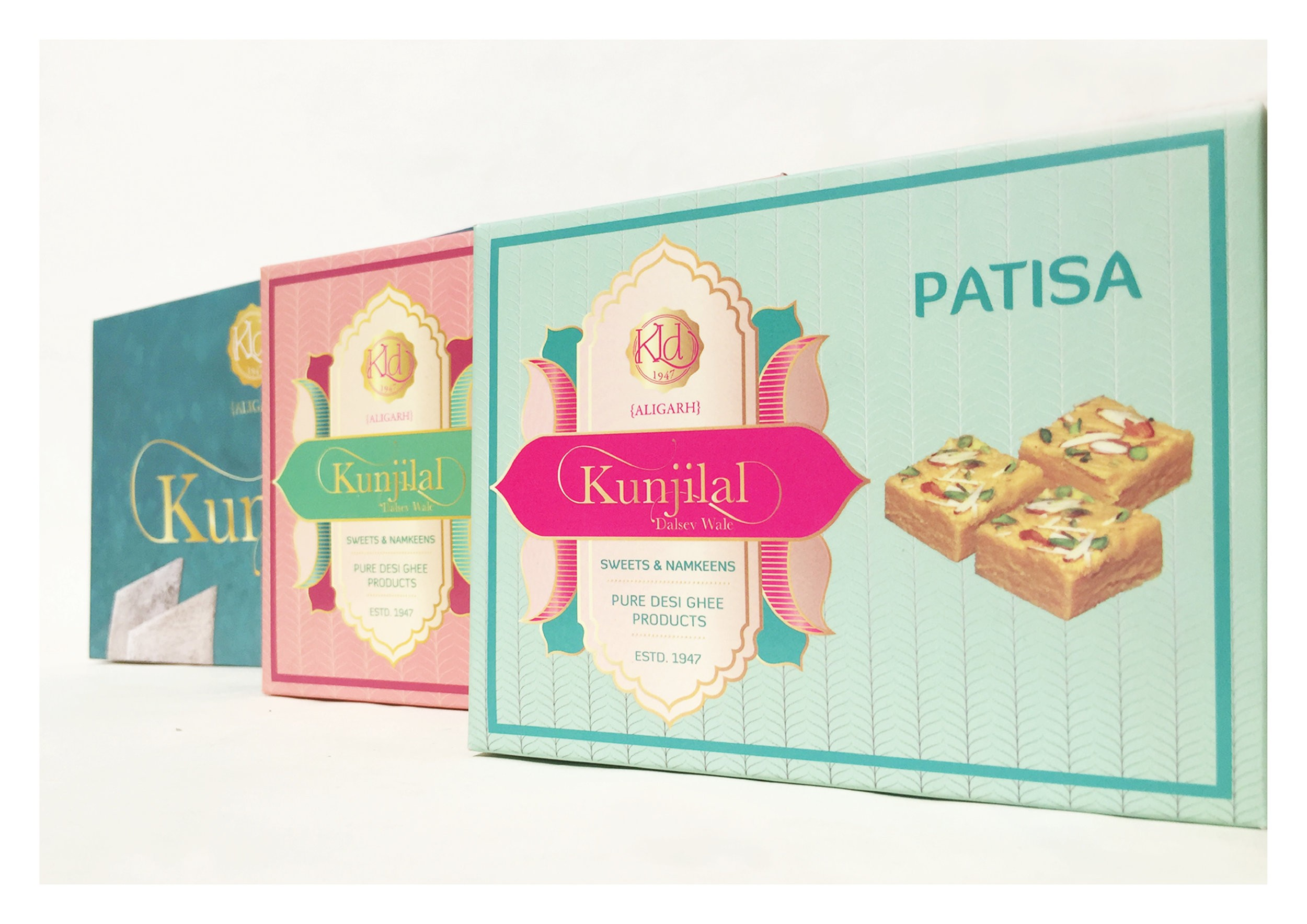 Modern Packaging Redesign for a Sweets and Namkeen Indian Brand