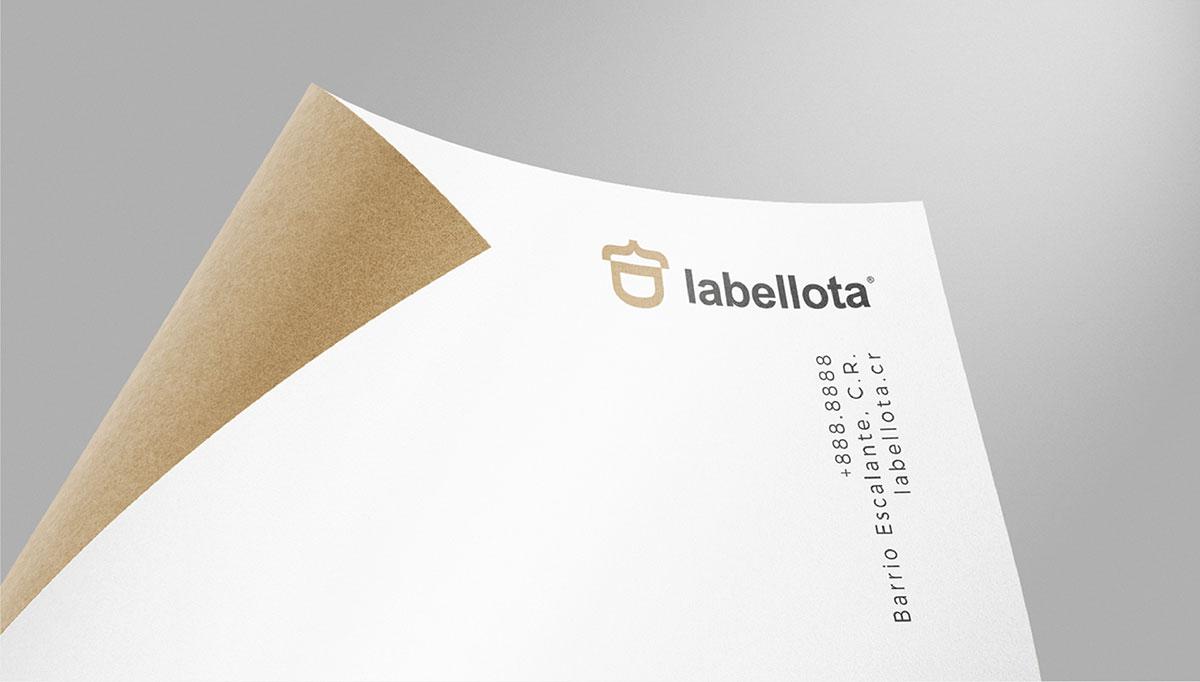 Labellota Identity and Brand Design