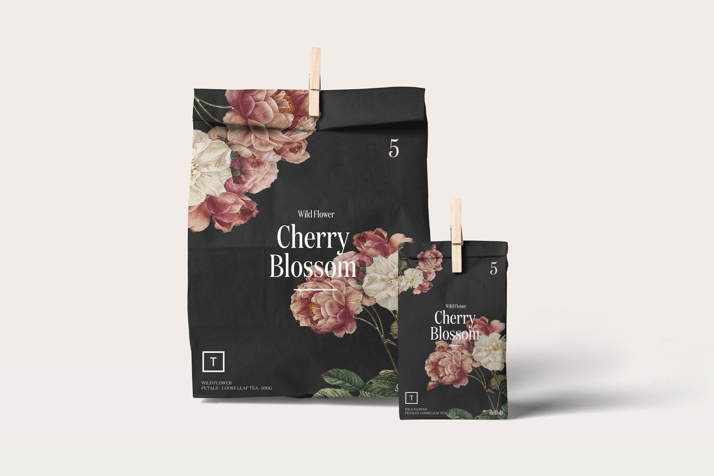 Branding & Packaging Design for Floral Juice Bar that Deliver Floral Based Edible Tea's