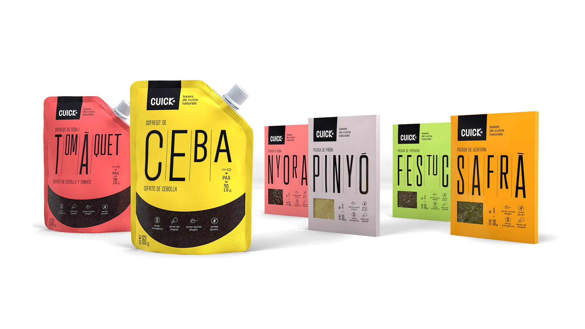New Brand Development and Package Design Concept for Cuick