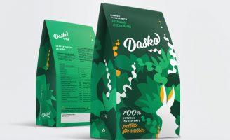 Dasko Pet Food Packaging Design from Crete
