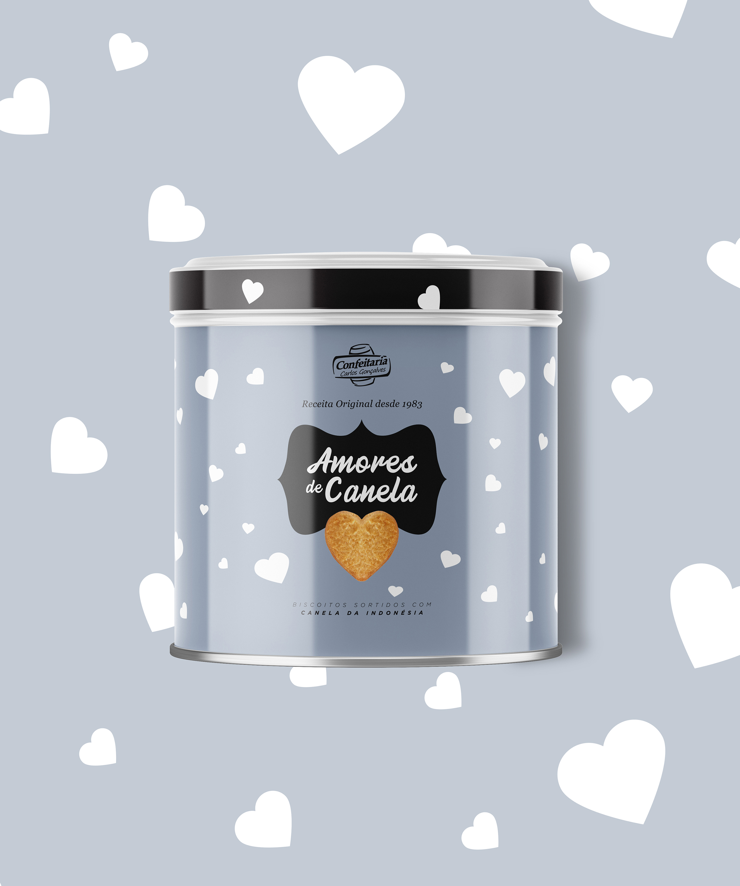 Valentine's Day Biscuit Box From Portugal