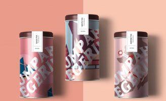Sumpah Tuk Negeriku (The Youth Pledge) The Authentic Indonesia Tea Packaging Design