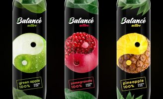 Packaging Design for Balance Active Juice