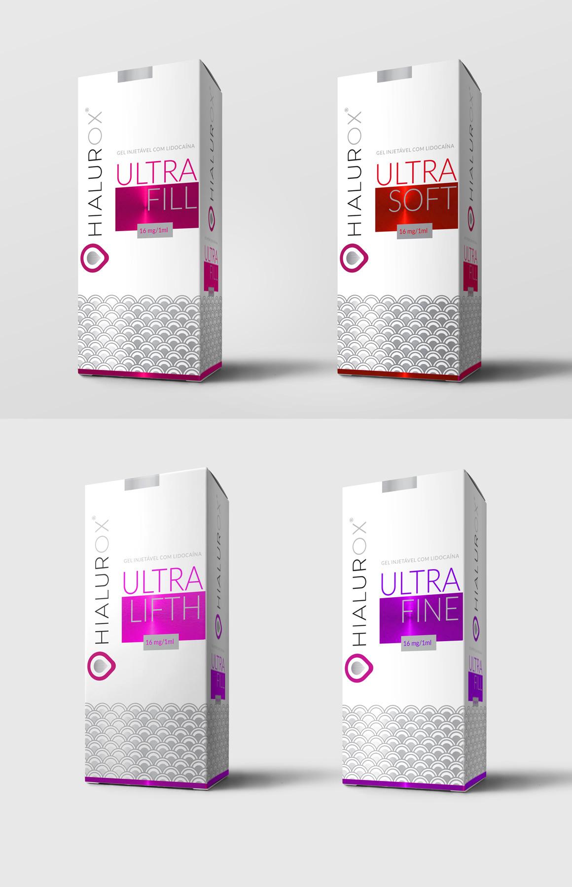 Noodles Design – Hialurox packaging