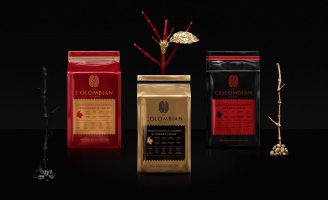 Colombian Premium Artisanal Coffee Brand Design and Packaging Design Commercialized in Hong Kong
