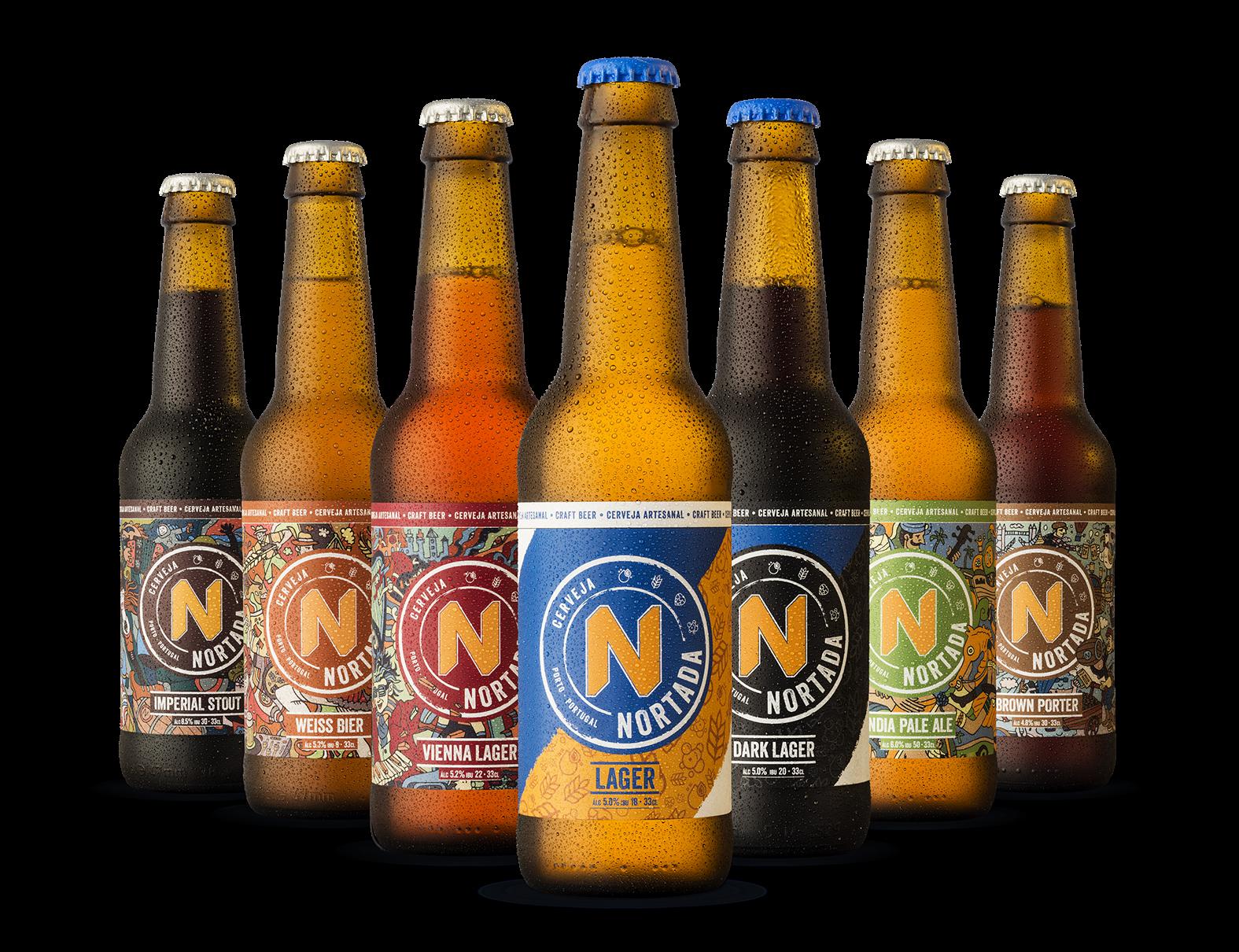 In-house Creative Design Team Rebranding a Portuguese Craft Beer