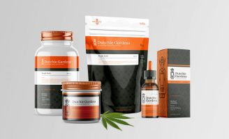Branding and Packaging Design Concept for Licensed High-Quality Cannabis Farm from the Kingdom of Netherland