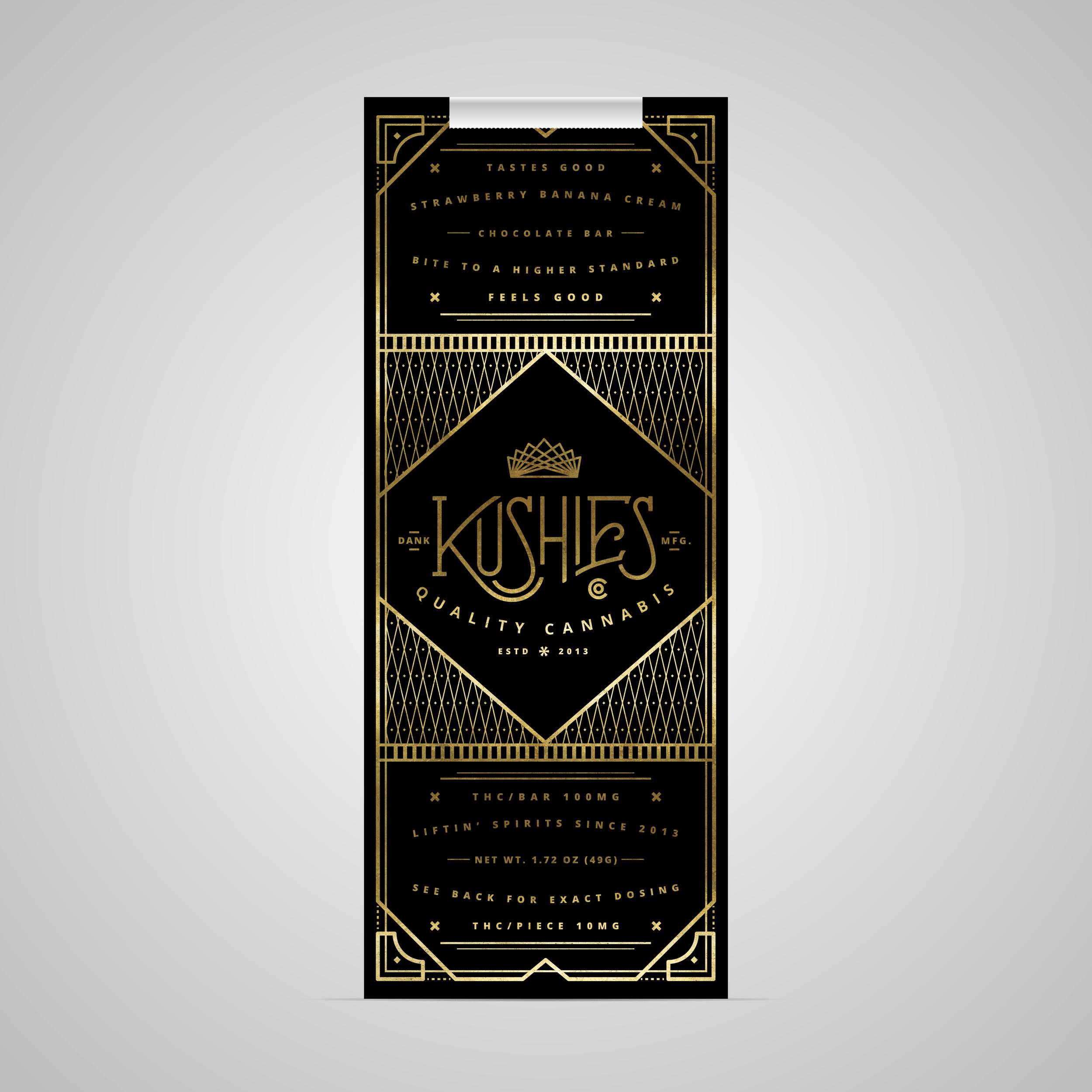 Oddly Brand Co. – Kushies Chocolate Box (Concept)