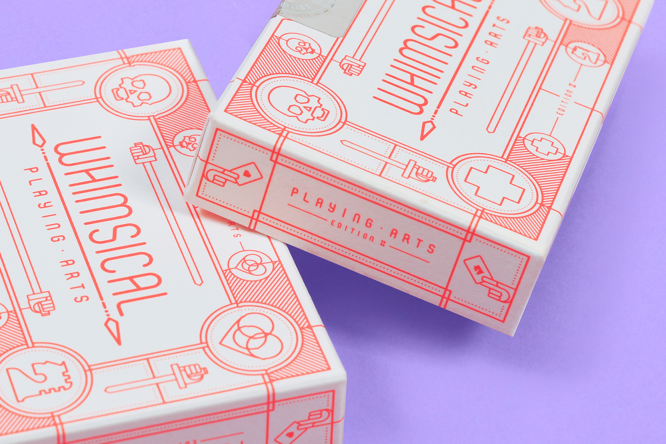 Whimsical Playing Arts with Minimalist and Eye-Catching Packaging Design