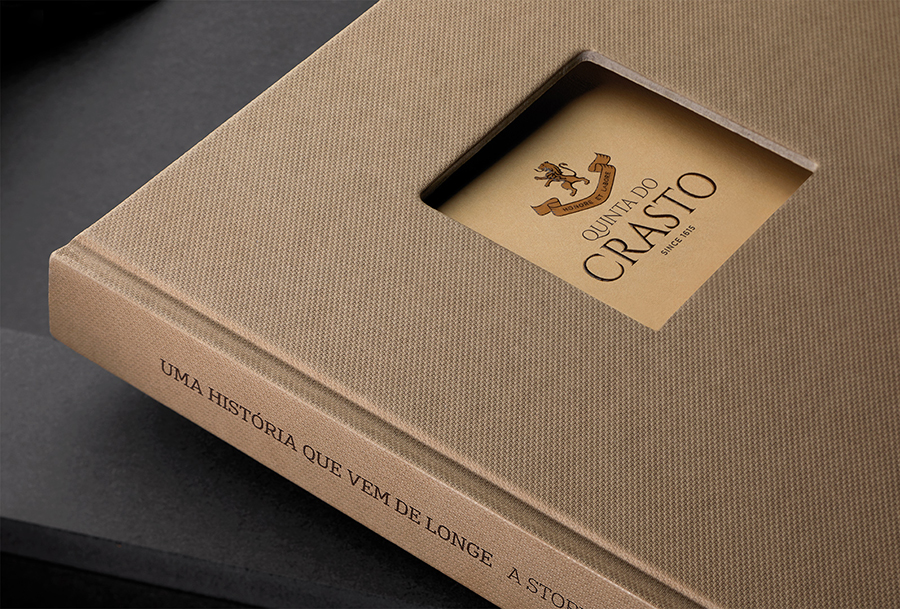 Quinta do Crasto's Honore Douro Signed by Omdesign