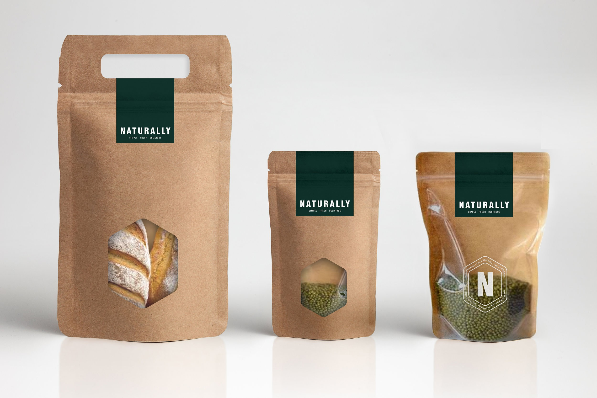 Healthy Food Brand Identity, Brand Guardianship, Product Packaging and Store Design