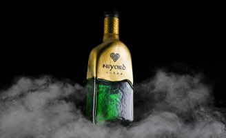 "Vodka ""Niyord"" is a Graphic Reflection of the History of Viking Culture"