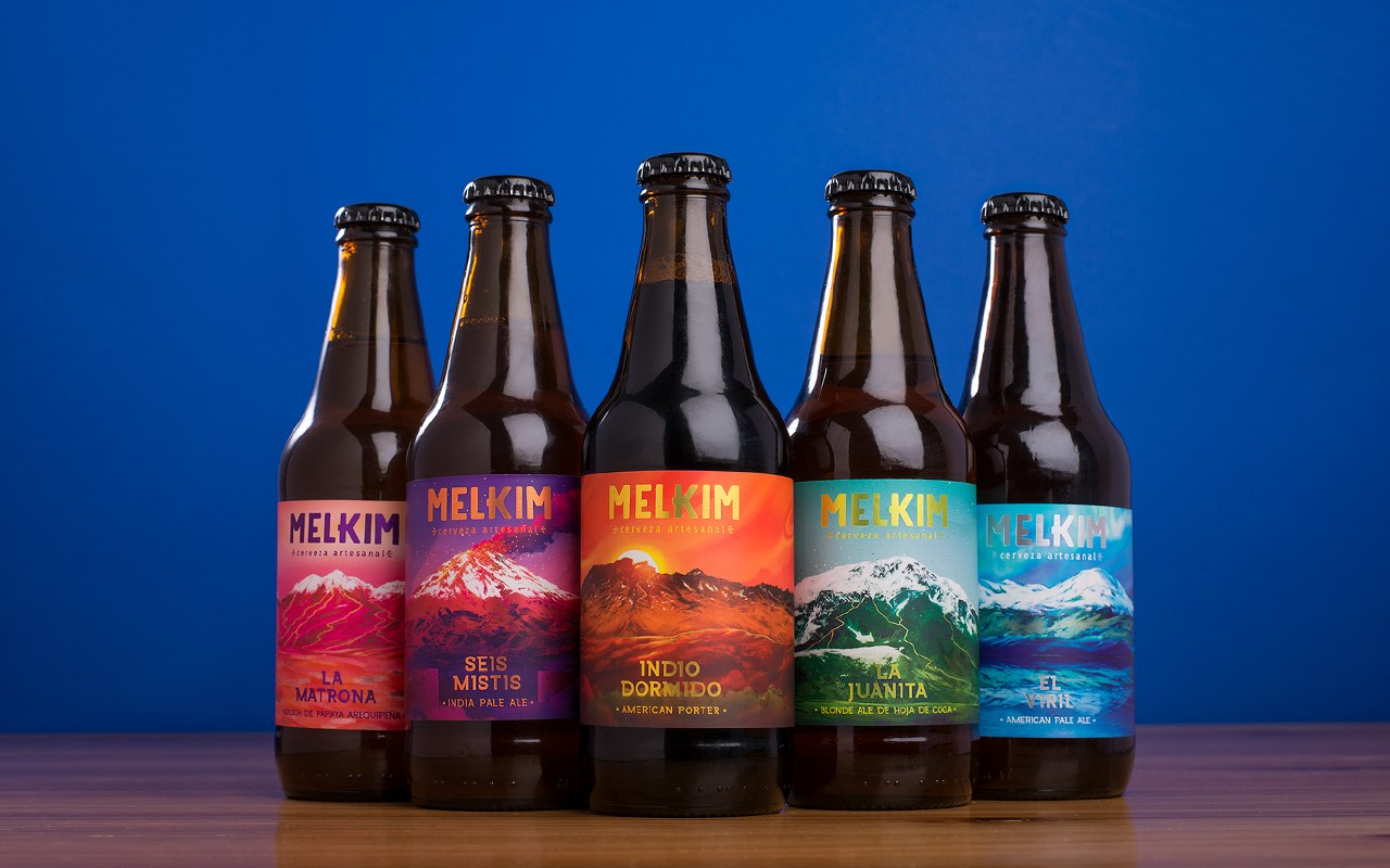 Branding and Packaging Design for Artesanal Beer from Arequipa – Melkim