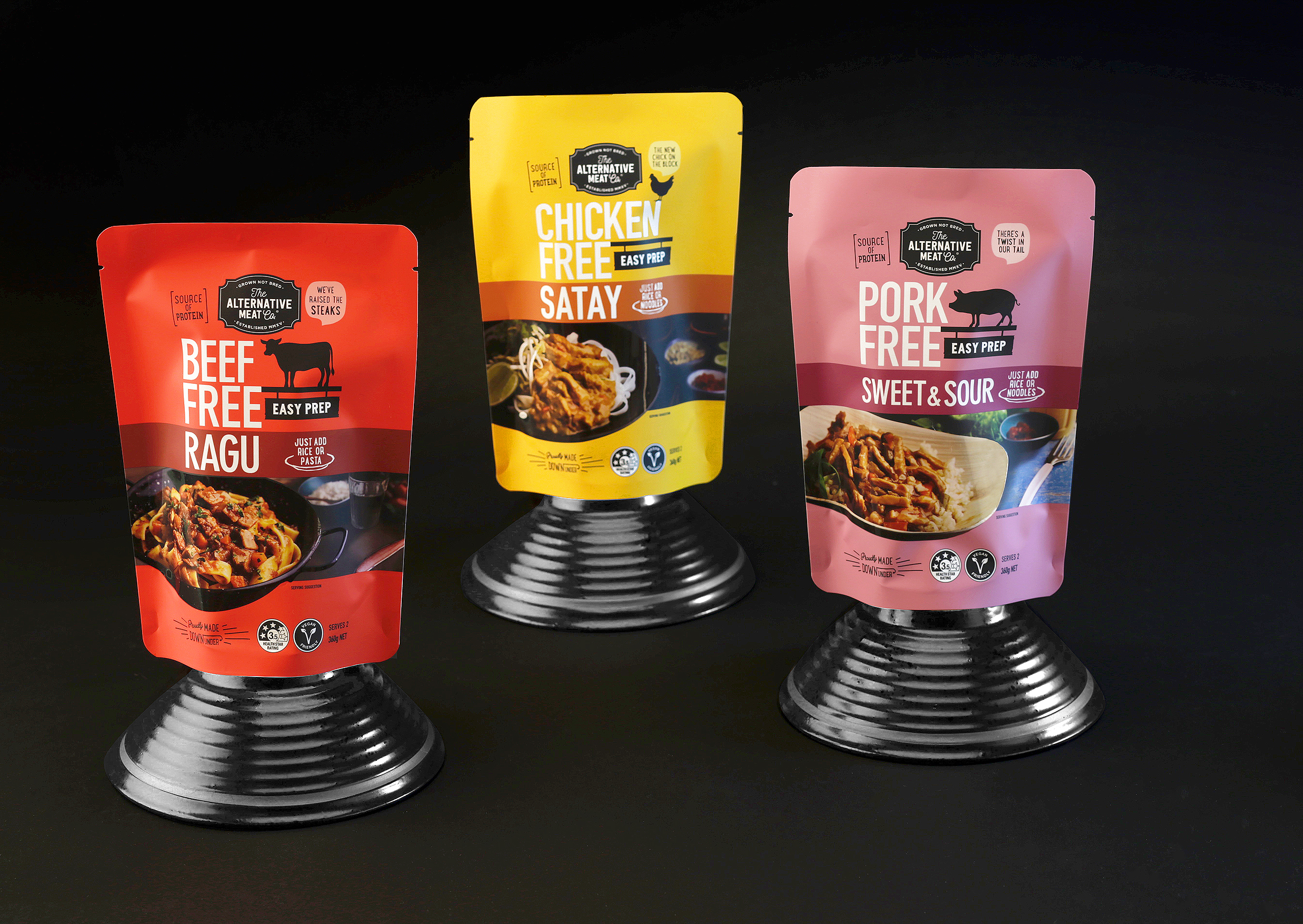 Packaging and Branding Design for Australasia's Leading Planted based Meat Brand