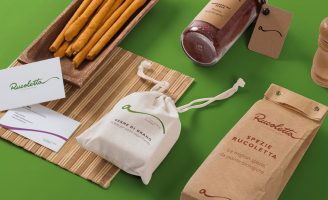 Brand Identity for Rucoletta, Vegan Fast Food