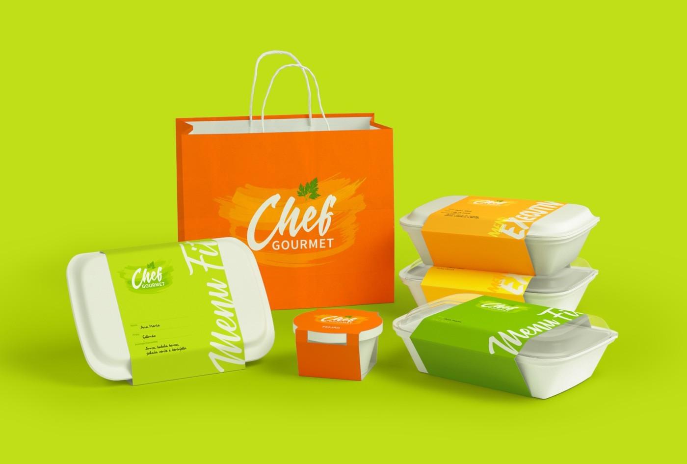 Ricebean Studio – Chef Gourmet Brand Identity