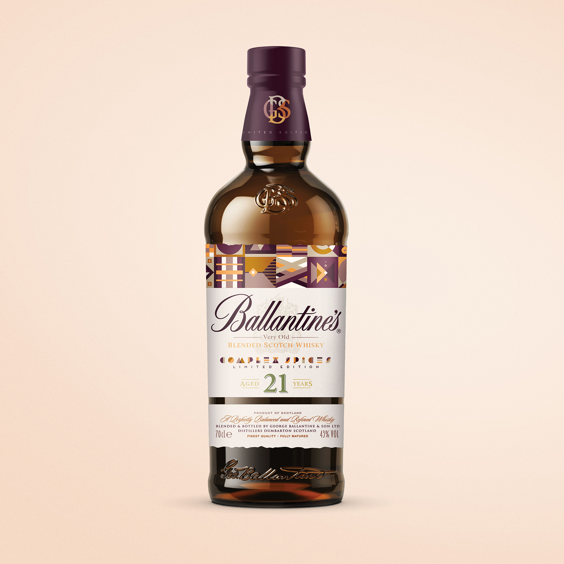 Packaging Design Concept for Ballantine's 21 Year Old Whisky Limited Edition