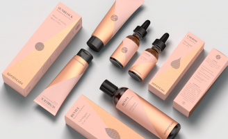 Youthful and Radiant Identity and Packaging Design for Skin Care Brand